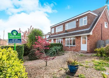 Thumbnail 3 bed semi-detached house to rent in Meadow View Road, Exmouth