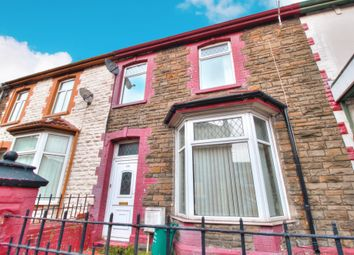 Thumbnail 4 bed terraced house for sale in Aberrhondda Road, Porth