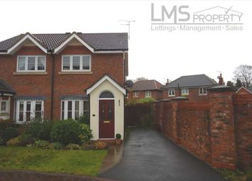 Thumbnail 2 bedroom semi-detached house to rent in Foxhill Close, The Grange, Sandiway
