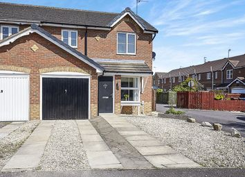 Thumbnail 3 bed semi-detached house for sale in Lavender Close, Kingswood, Hull