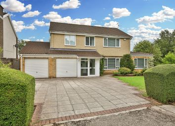 Thumbnail 4 bed detached house for sale in Larch Grove, Lisvane, Cardiff