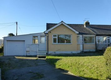 Thumbnail 3 bed semi-detached bungalow for sale in Ystad Coetmor, Bethesda, Bangor