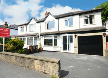 Thumbnail 4 bed semi-detached house for sale in Longmore Road, Shirley, Solihull