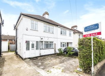 Thumbnail 3 bed semi-detached house for sale in The Fairway, South Ruislip, Middlesex
