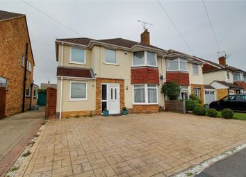 Thumbnail 4 bed semi-detached house for sale in Haddon Drive, Woodley, Reading, Berkshire