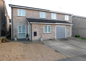 Thumbnail 4 bedroom semi-detached house for sale in Elizabeth Way, Stowmarket