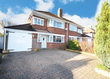 Thumbnail 3 bed semi-detached house for sale in Fabian Crescent, Shirley, Solihull