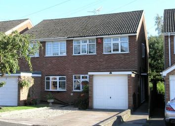 Thumbnail 3 bedroom semi-detached house for sale in The Spinney, Dudley