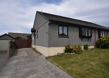 Thumbnail 2 bed semi-detached bungalow for sale in The Paddock, Redruth
