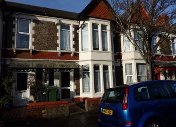 Thumbnail 4 bedroom terraced house for sale in Newfoundland Road, Cardiff
