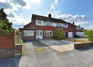 Thumbnail 4 bed semi-detached house for sale in Dovedale Road, Offerton, Stockport