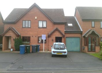 Thumbnail 2 bed terraced house to rent in Borrowdale Close Gamston, Nottingham