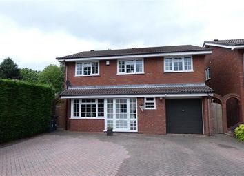 Thumbnail 4 bed detached house for sale in Lowercroft Way, Four Oaks, Sutton Coldfield