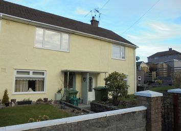 Thumbnail 2 bed flat for sale in Heol Illtyd, Llantrisant, Pontyclun
