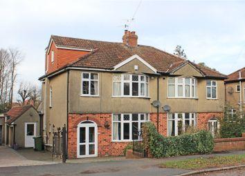 Thumbnail 4 bedroom semi-detached house for sale in Kenmore Crescent, Filton Park, Bristol
