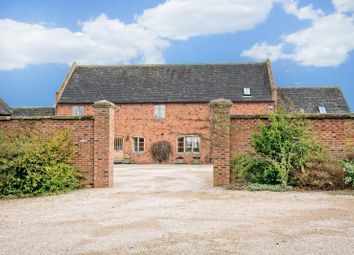 Thumbnail 4 bed country house for sale in Clifton Campville, Staffordshire