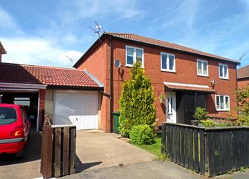 Thumbnail 3 bed semi-detached house for sale in Stretton Way, Backworth, Newcastle Upon Tyne