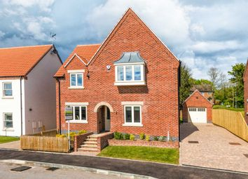 Thumbnail 4 bed detached house for sale in West Manor Park, Epperstone
