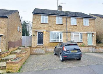 Thumbnail 2 bed semi-detached house for sale in Pearson Avenue, Hertford