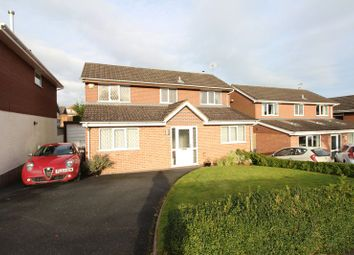 Thumbnail 3 bedroom detached house for sale in Mason Drive, Biddulph, Staffordshire