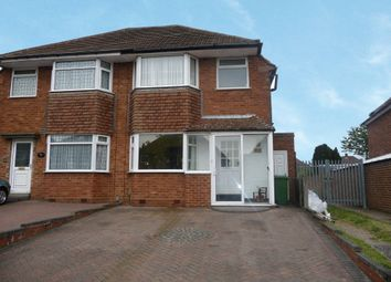 Thumbnail 3 bed semi-detached house to rent in Wichnor Road, Solihull, West Midlands