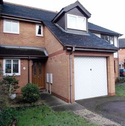 Thumbnail 3 bed terraced house to rent in Crummock Water, Stukeley Meadows, Huntingdon