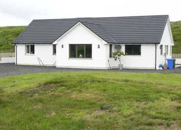 Thumbnail 4 bed detached bungalow for sale in Cnoc Dubh 23 Portnalong, Carbost, Isle Of Skye