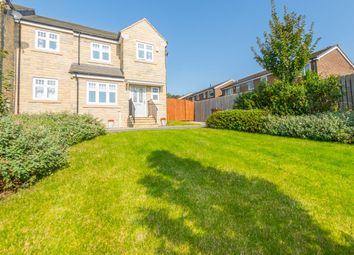 Thumbnail 3 bed semi-detached house for sale in White Horse Gardens, Birstall, Batley