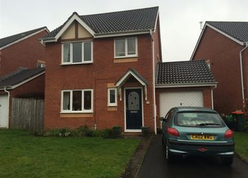 Thumbnail 3 bed detached house to rent in Delphinium Road, Rogerstone, Newport
