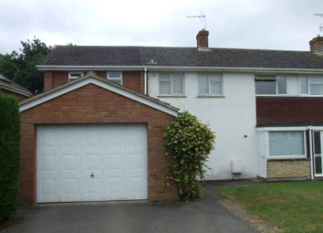 Thumbnail 4 bedroom semi-detached house to rent in Charlbury Road, Shrivenham, Swindon