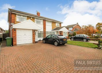 Thumbnail 3 bed semi-detached house for sale in Dunster Drive, Flixton, Manchester
