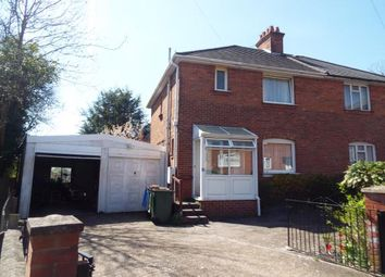 Thumbnail 3 bed semi-detached house for sale in Woodcote Road, Southampton