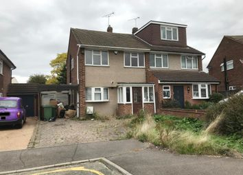 Thumbnail 3 bed semi-detached house for sale in 12 Lesley Close, Bexley, Kent