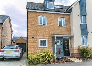 Thumbnail 3 bed semi-detached house for sale in Vickers Way, Wolverton, Milton Keynes