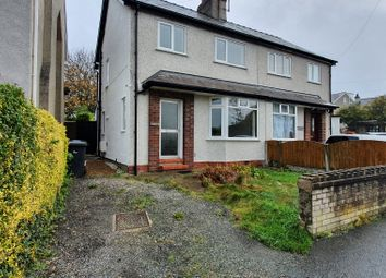 Thumbnail 3 bed semi-detached house to rent in Llewelyn Avenue, Glan Conwy