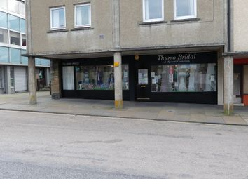 Thumbnail Retail premises for sale in High Street, Thurso