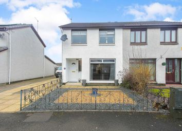 Thumbnail 3 bed semi-detached house for sale in Hallidale Crescent, Renfrew