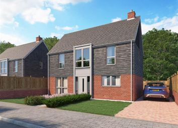 Thumbnail 4 bed detached house for sale in Conningbrook Lakes, Kennington, Ashford