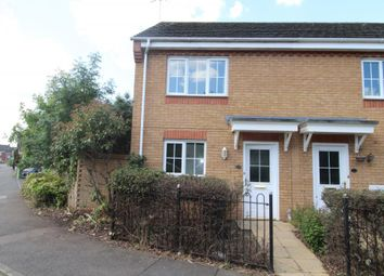 Thumbnail 2 bedroom end terrace house to rent in Buckthorn Road, Hampton Hargate, Peterborough