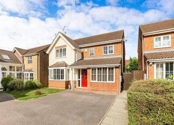 Thumbnail 4 bed detached house for sale in Webb Close, Letchworth Garden City, Hertfordshire, England