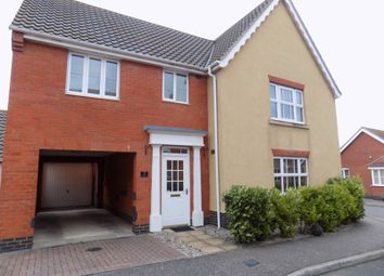 Thumbnail 4 bed detached house for sale in Barnard Close, Gorleston, Great Yarmouth