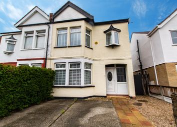 Thumbnail 3 bed semi-detached house for sale in St Benets Road, Southend-On-Sea