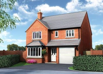 Thumbnail 4 bed detached house for sale in Plot 3, Old Hall Fields, Wellington, Telford