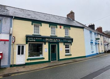 Thumbnail Commercial property for sale in 2 High Street, St Dogmaels, Cardigan