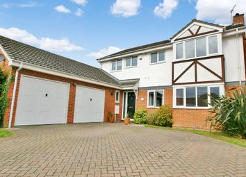 Thumbnail 5 bed detached house for sale in Harvest Close, Hainford, Norwich