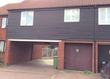 Thumbnail 1 bed flat to rent in Clayton Close, Beckton, East Ham