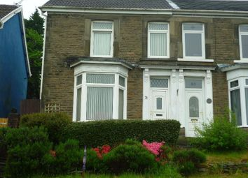 Thumbnail 4 bed semi-detached house for sale in Old Road, Briton Ferry, Neath
