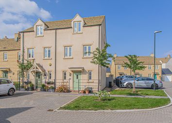 Thumbnail 3 bed town house for sale in De Borg Close, Tetbury
