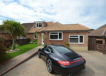 Thumbnail 4 bed semi-detached bungalow for sale in Wharf Road, Frimley Green, Camberley, Surrey