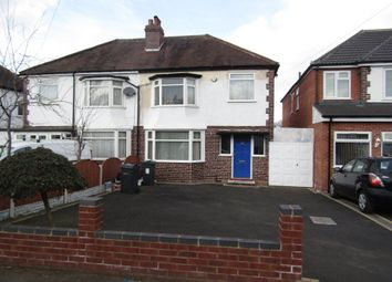 Thumbnail 3 bed semi-detached house to rent in Beechcroft Avenue, Hall Green, Birmingham